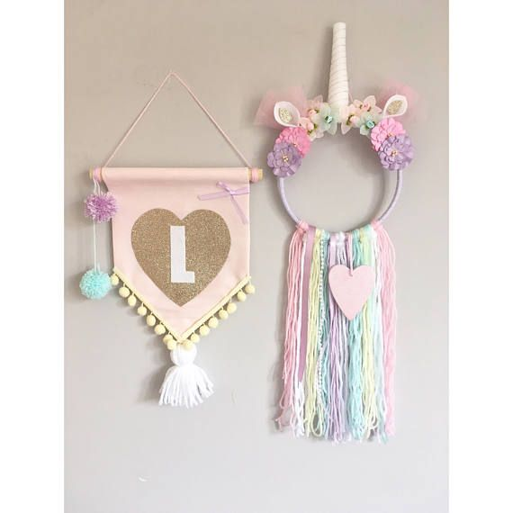 Unicorn Bedroom Decor Set   Dreamcatcher   Wall Hanging. 25  unique Unicorn bedroom decor ideas on Pinterest   Unicorn room