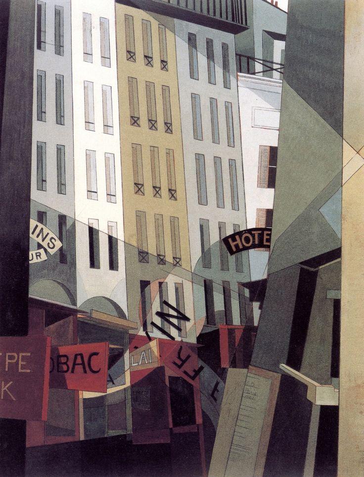 Rue du Singe Qui Pêche - Charles Demuth