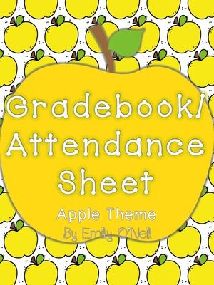 Best 25+ Attendance sheets ideas on Pinterest Teacher lesson - attendance book template