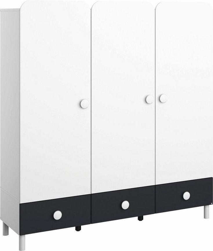 rauch PACK'S Türenelement »Filipo«, mit 3 Schubkästen für 299,99€. Toller Schrank fürs Jugendzimmer, Mit abgerundeten Türen, Niedrige Höhe von 133 cm bei OTTO