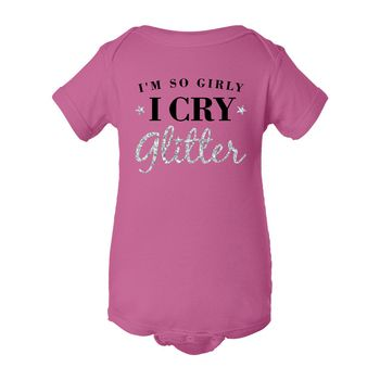 Shop for Pink Sparkly Glitter Shirts for Baby Girls