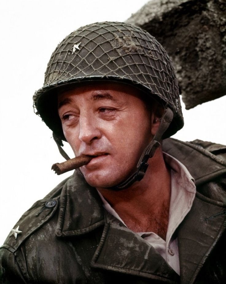 Robert Mitchum | Robert Mitchum Image from The Longest Day (1962) ( I LOVE MITCHUM!)