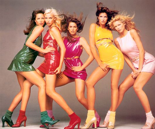 !: Spices Girls, Richard Avedon, Stephanie Seymour, Claudia Schiffer, Christy Turlington, Ads Campaigns, Tops Models, Gianni Versace, Cindy Crawford