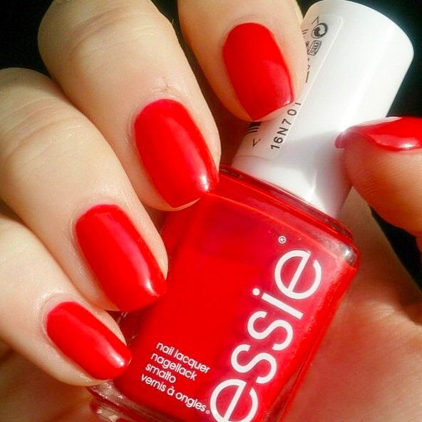 Best Bright Red Nail Polish: 17 Best Ideas About Bright Red Nails On Pinterest