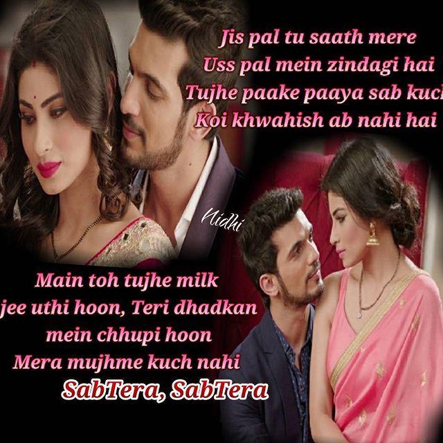 Love u my #arni my #rivanya my #jaan #love #happiness ❤❤ #ritik #shivanya #rivanya #colors #arjunbijlani #mouniroy #naagin @arjunbijlani @imouniroy