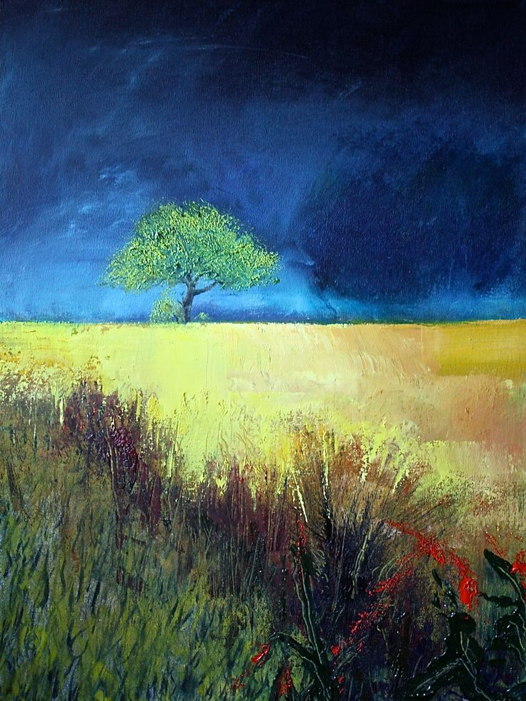 FINEARTSEEN - View Big Blue Horizon 9 by Simon Jones. A beautiful original landscape painting of nature. Available on FineArtSeen - The Home Of Original Art. Enjoy Free Delivery with every order. << Pin For Later >>