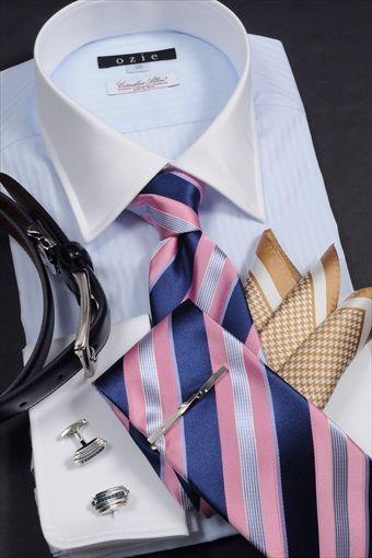 春の華やかなパーティースタイル! #mens #shirtstyle #mens coordinate #mens fashion #dress shirt  #メンズファッション #メンズコーディネート #ワイシャツ  #Tie #necktie #ネクタイ #タイドアップ #cleric shirt