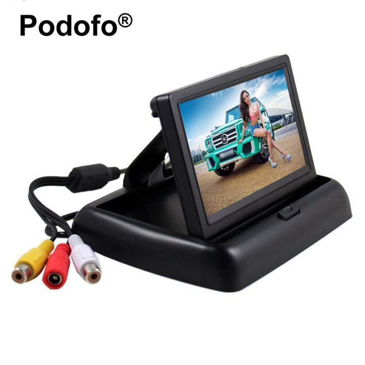 14.99$  Watch here - http://aliiee.shopchina.info/go.php?t=32740011988 - 4.3 inch HD Foldable Car Rear View Monitor Reversing Color LCD TFT Display Screen for Truck Vehicle Backup Rearview Camera 14.99$ #buyininternet