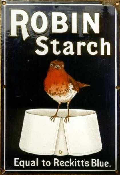 Robin Strach 'Equal to Reckitts Blue