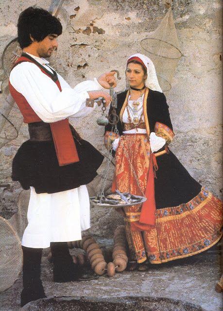 (Traditional Sardinian costumes) - Oristano - Sardinia - Italy