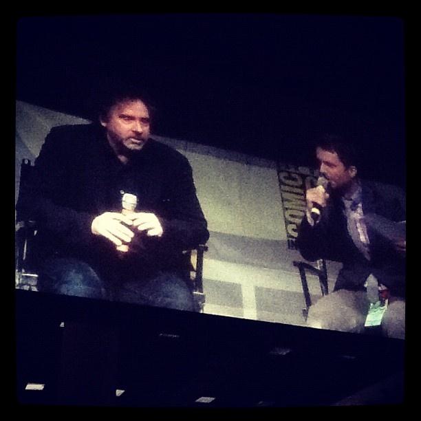 Tim Burton #comicconsw by screenweek_pic #comiccon #comicconit  #timburtonComicconit Timburton
