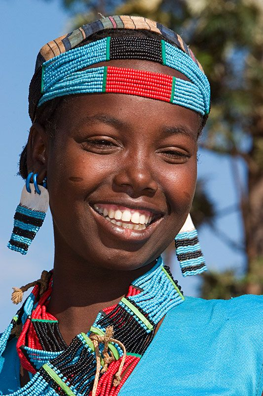Tsemay, facial tribal marks, and beautiful smile