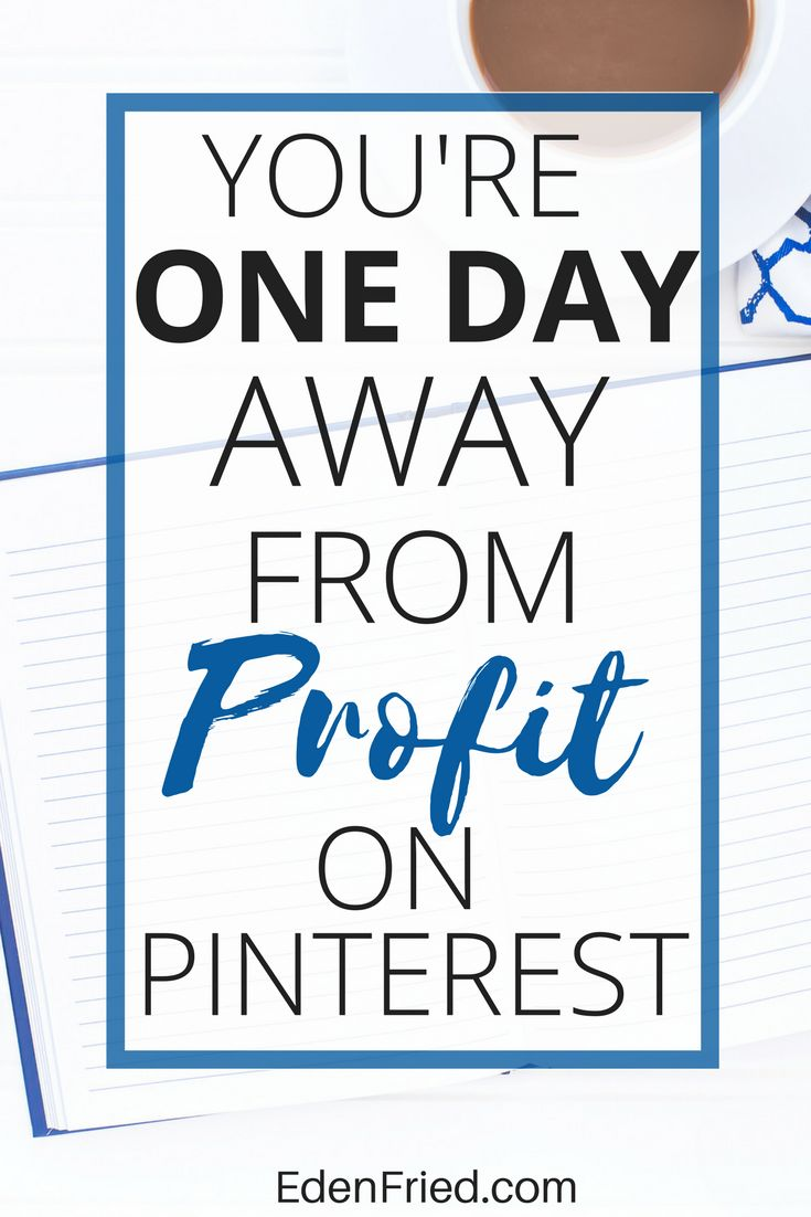 This works, not kidding. Get the guide to learning how to make money on Pinterest through affiliate marketing in 24 hours.