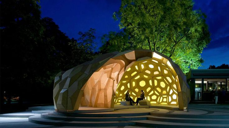 Research Pavilion by ICD ITKE   Yellowtrace