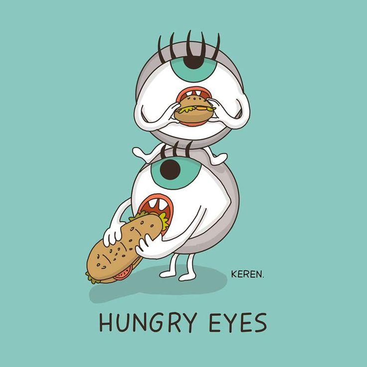hungry eyes keren