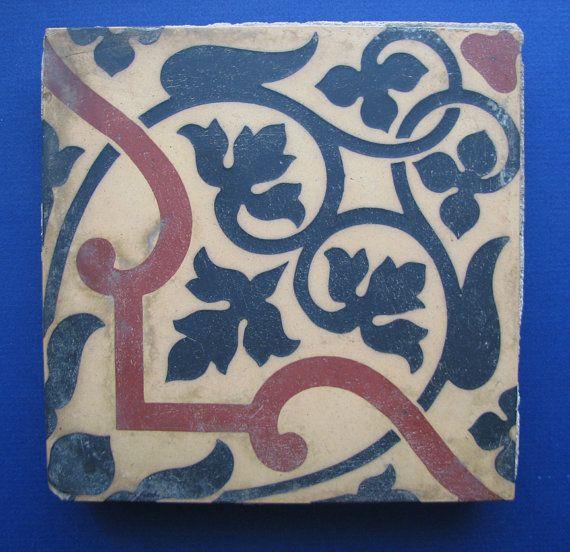 Minton & Co 6x6 Encaustic Architectural Tile