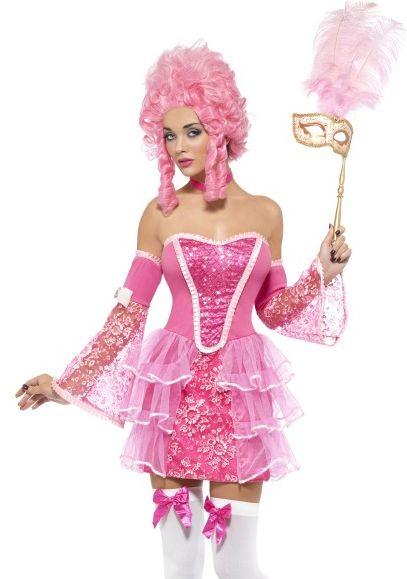 Marie Antoinette inspired costume