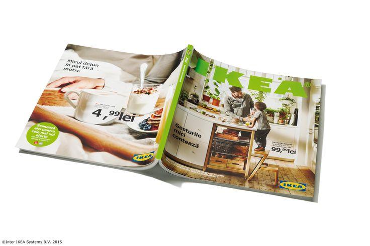 Catalogul IKEA este  cea mai mare producție tipărită 100% pe hârtie certificată de Forest Stewardship Council (FSC). În București, Pitești, Ploiești, Otopeni și Voluntari am distribuit anul acesta peste 930.000 de exemplare gratuit. Dacă nu l-ai primit, îl poți lua gratuit acasă din magazinul nostru, zona Relații Clienți sau îl poți răsfoi online. #CatalogulIKEA2016   www.IKEA.ro/Catalogul_IKEA_2016