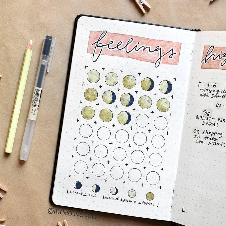 52 Bullet Journal Mood Tracker Ideas Volume 2