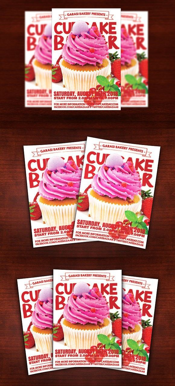 Cake Store Flyer. Flyer Templates