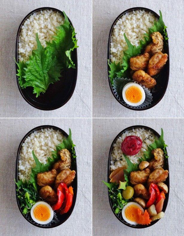 まずここから!基本のお弁当の詰め方~鶏の竜田揚げ弁当 - レタスクラブニュース