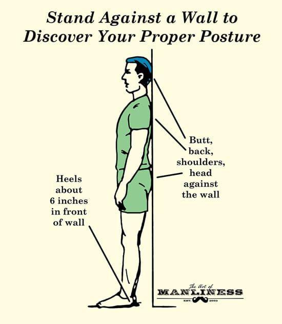 how to fix bent back posture