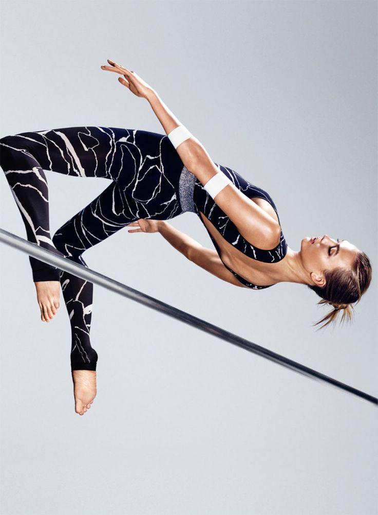 Karlie Kloss by Paola Kudacki for Self Magazine August 2015 #fitness #exercise #BeAnAthlete