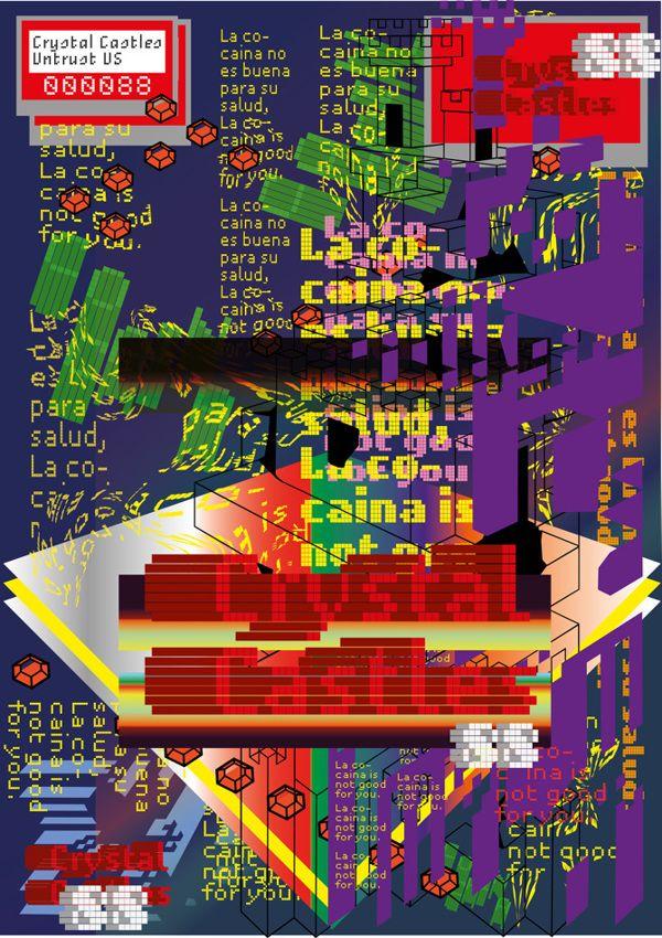 Crytral Castle Poster on Behance