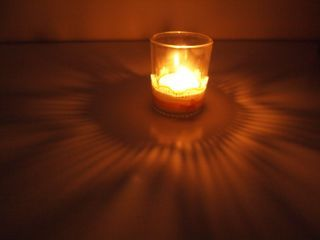 candle holder #2 light up