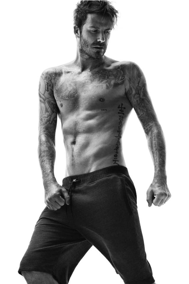 Check out David Beckham's new campaign photos.