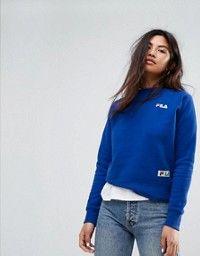Fila Oversized Boyfriend Sweatshirt With Chest Logo