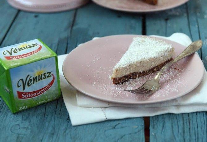 Kókuszos gesztenye torta sütés nélkül