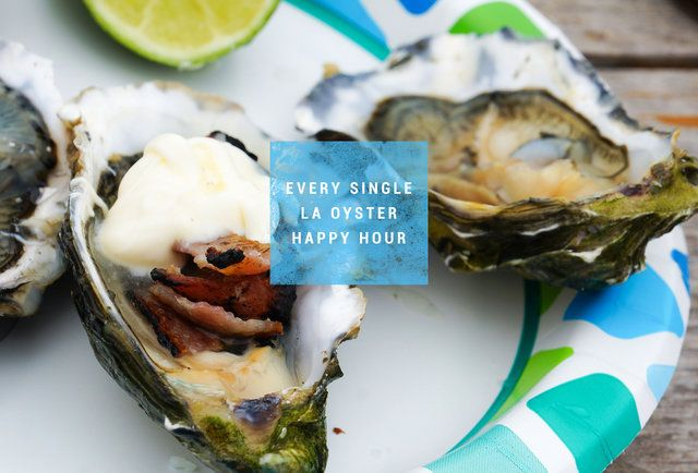 Every single oyster happy hour deal in Los Angeles | Thrillist.com