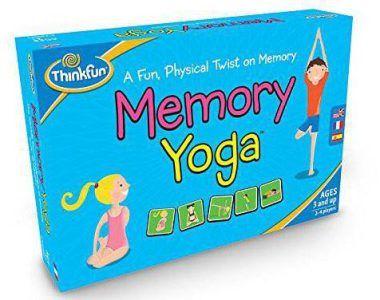 Juego memory yoga para niños, ideal para jugar en familia y practicar yoga