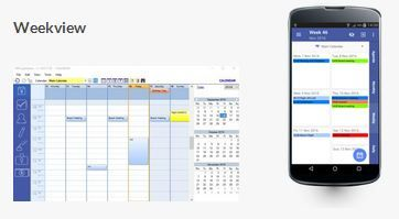 The #calendar module appears and is used as most of the calendars available for desktop #computers or #mobile devices.