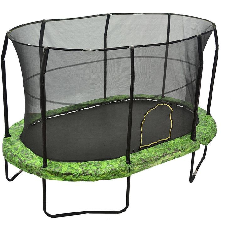 17 Best Ideas About Oval Trampoline On Pinterest: 25+ Best Ideas About Trampoline With Enclosure On
