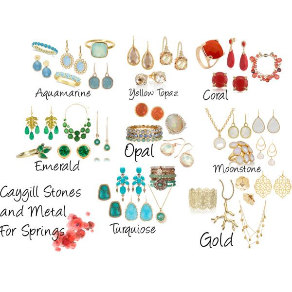 Caygill Stones and Metal For Spring by macyschica on Polyvore featuring Suzanne Kalan, Tory Burch, Kenneth Jay Lane, Penny Preville, Carolee, Kendra Scott, Monica Vinader, Oasis, Accessorize and Pippa Small
