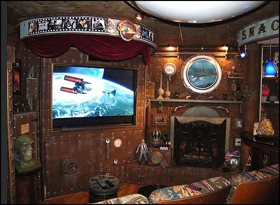 cool steampunk bedroom interior decorating design ideas - Steampunk Interior Design Ideas