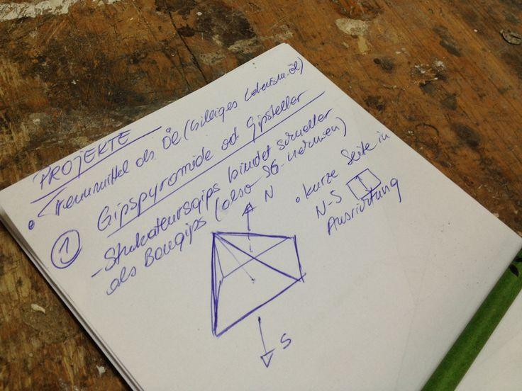 Effets des pyramides sur les plantes et organismes vivants.