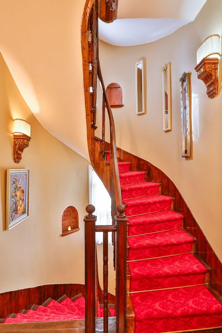 #stairs #red #art #design #hotel #book #faikpasha #taksim #faikpashahotel #istanbul #beyoglu #cihangir #cukurcuma #galata #otel #istanbulotelleri