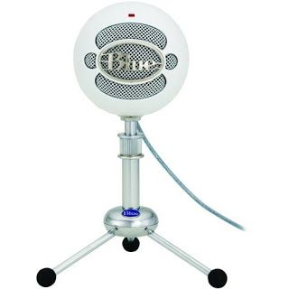 Blue Snowball Microphone - My FAVORITE microphone for recording.