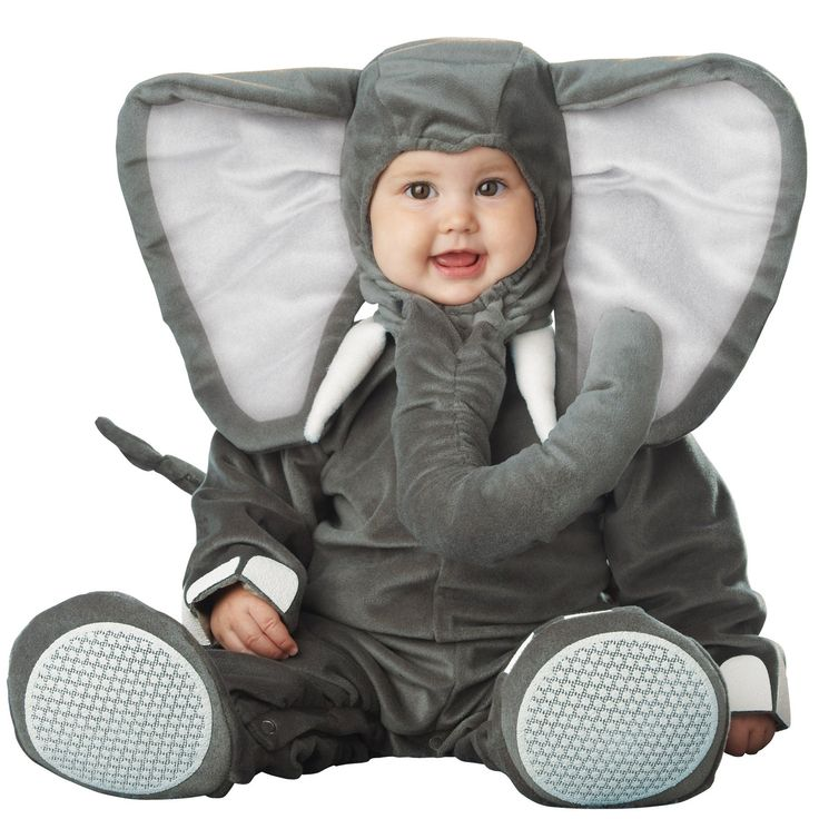 Lil' Elephant Elite Collection Infant / Toddler Costume from BuyCostumes.com
