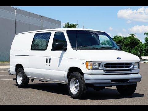 1998 Ford E250 Cargo Van Cargo Van Vans Ford E250