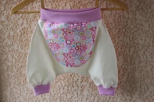 Patron de couture : sarouel bébé  à mois