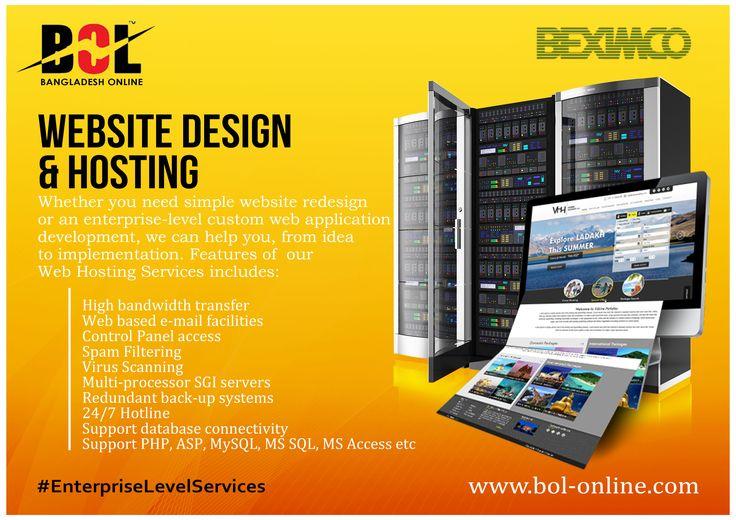 #BOL Website designing and Hosting #BEXIMCO #Bangladesh #BEXIMCO_IT #enterpriselevelservices For details visit: www.bol-online.com