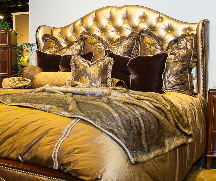 777 Best Images About Home Decor: Luxury Bedding, Pillows