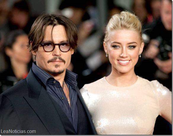 Doble celebración para la boda de Johnny Depp y Amber Heard - http://www.leanoticias.com/2015/02/10/doble-celebracion-para-la-boda-de-johnny-depp-y-amber-heard/