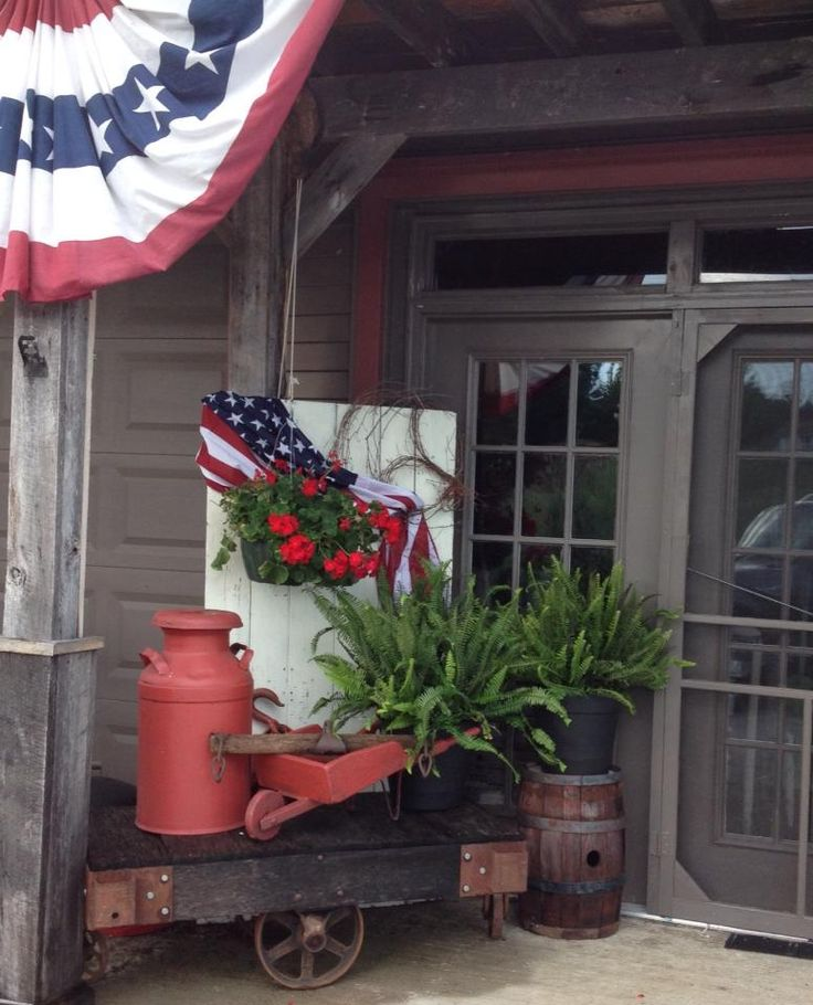 Country Front Porch Decorating Ideas: 539 Best A Country Porch Images On Pinterest