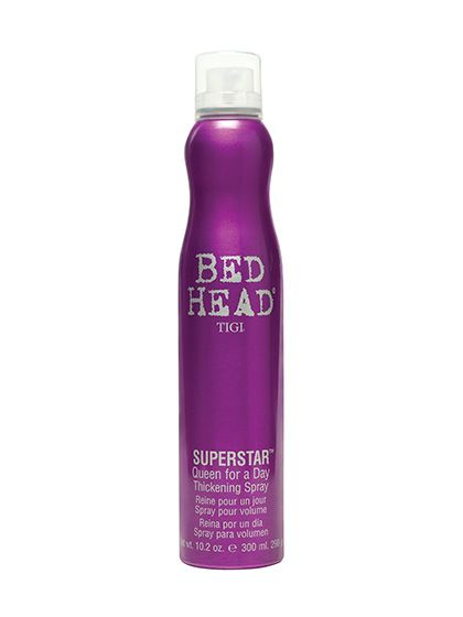 Best Beauty Products from Target — Tigi Bed Head Superstar Queen for a Day Thickening Spray: This Best of Beauty–winning volume spray amps up texture and body to get Victoria's Secret Angel oomph without crunchy, sticky residue.