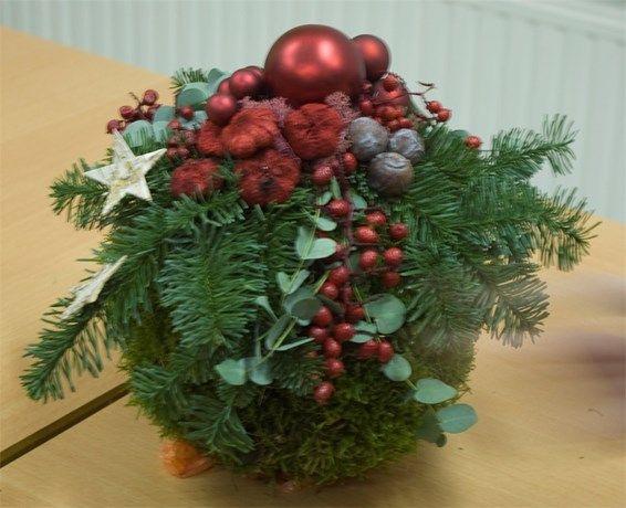 bloemstukken kerst - Google zoeken
